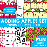 Addition Games - Adding Apples Set