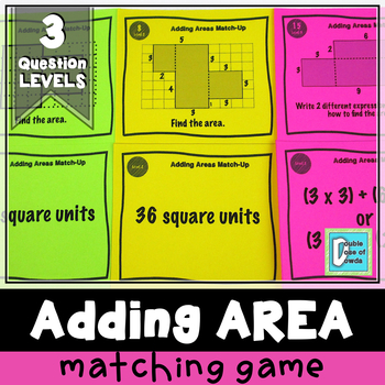 Adding Areas Match-Up Cards