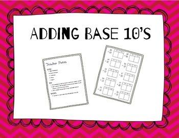 Adding Base Tens