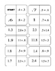 Adding Decimals Dominos (1 Decimal Place)