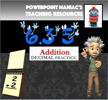 Adding Decimals Power Point