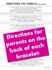 Adding Doubles Homework {Bracelets with review videos & fa