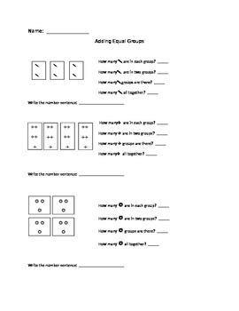 Adding Equal Groups