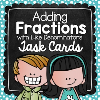 Adding Fractions with Like Denominators