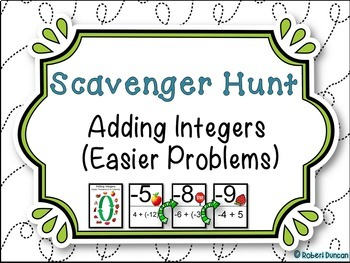 Adding Integers - Easier Problems