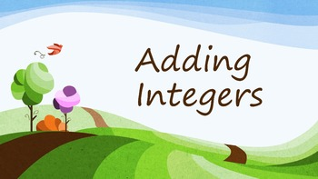Adding Integers (PowerPoint)