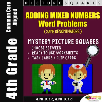 Adding Mixed Numbers Word Problems