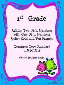 Adding Numbers with Rods and Ten Frames