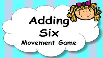 Adding Six Addition Facts Mental Maths Game, Brain Break o