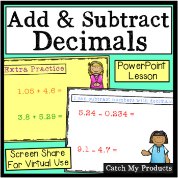 Adding & Subtracting Decimals Power Point