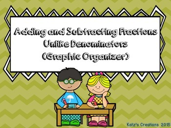 Adding & Subtracting Fractions with Unlike Denominators (G