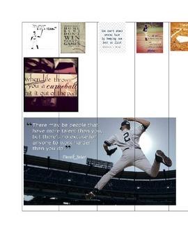 Adding & Subtracting Mixed Numbers Baseball Theme BINGO/ S