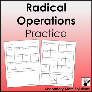 Adding, Subtracting, Multiplying & Dividing Radicals (with