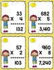 Adding, Subtracting, Multiplying and Dividing Task Card Bu