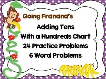 Adding Tens on Hundreds Chart