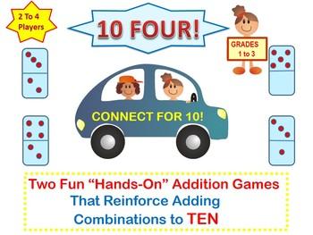 Adding To Ten Strategy Game