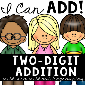 Adding Two Digit Numbers (Centers and More!)