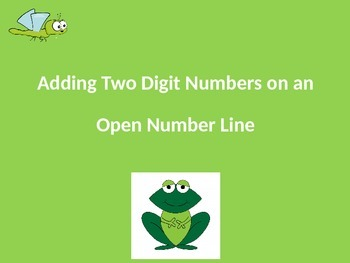 Adding Two Digit Numbers on an Open Number Line