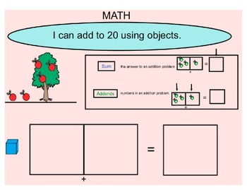 Adding With Objects to 10