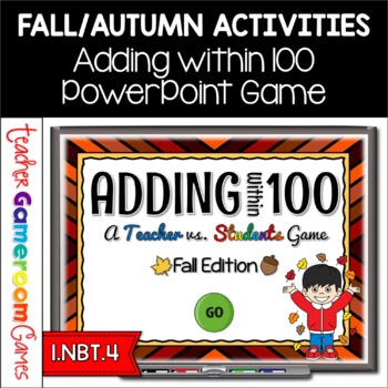Adding Within 100 - Fall Edition - PPT Games