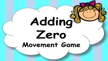 Adding Zero Addition Facts Mental Maths Game, Brain Break