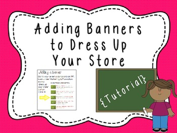 Adding a Banner to Dress Up Your Store {Tutorial}