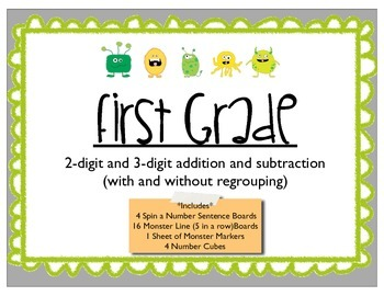 Adding and Subtracting 2-digit and 3-digit numbers with an
