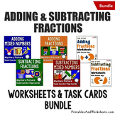 Adding and Subtracting Fractions with Unlike Denominators,