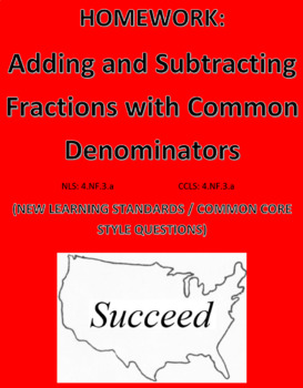 Adding and Subtracting Fractions (Common Denom): Common Co