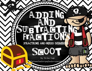 Fractions: Adding and Subtracting SCOOT