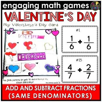 Adding and Subtracting Fractions with Same Denominator