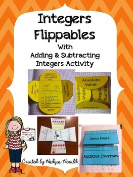 Adding and Subtracting Integer Flippables and Left Side Activity