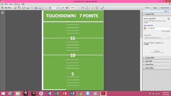 Adding and Subtracting Integers - Math Football and SMART
