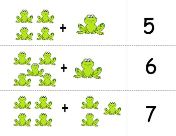 Adding and Subtracting Matching Game