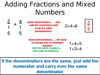 Adding and Subtracting Rational Numbers
