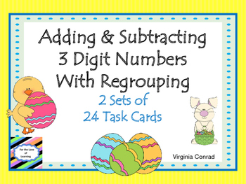 Adding and Subtracting Three Digit Numbers With Regrouping