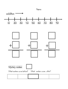 Adding and Subtracting by Tens