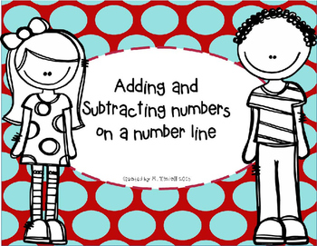 Adding and Subtracting numbers on a number line (Distances