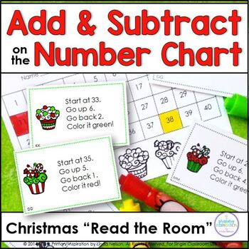Adding and Subtracting on the Number Chart