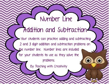 Adding and Subtracting on the Number Line