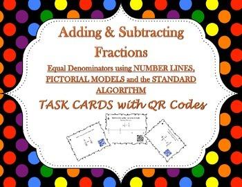 Adding and SubtractingFractions Like Denominators - Task C