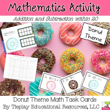 Adding or Subtracting Within 20 Continued