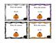 Halloween Math Addition 2 Digit (W/O Regrouping) Task Card
