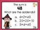 Mental Math Addition Task Cards