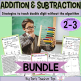 Addition AND Subtraction Strategies- no algorithm {Common