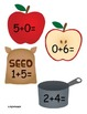 Addition Apples within 10 Cake Walk Style Write the room 7