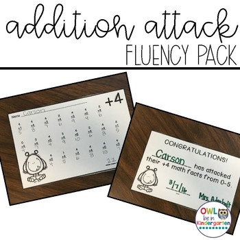 Addition Attack Fluency Pack