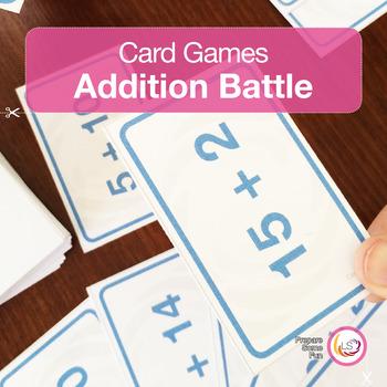 Addition Battle Card Game