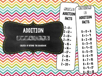 Addition Booklets