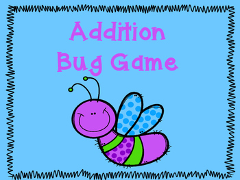 Addition Bug Game